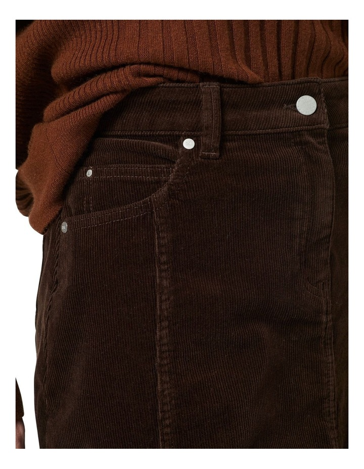 Celine 5 Pocket Cord Skirt image 4