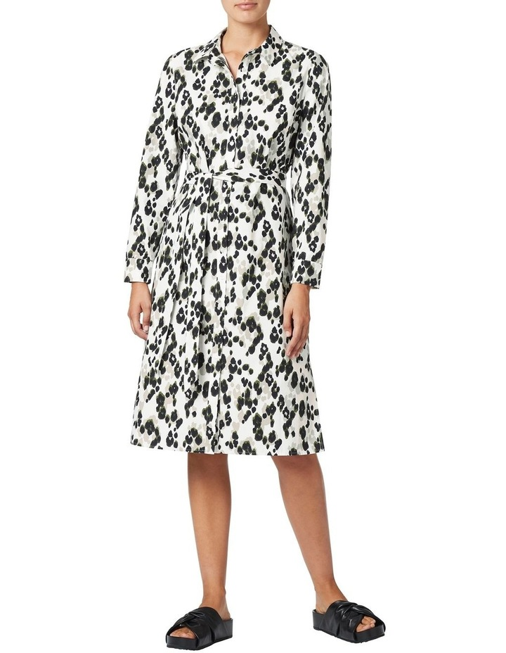 Sacha Printed Shirt Dress image 1