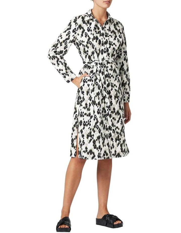 Sacha Printed Shirt Dress image 2
