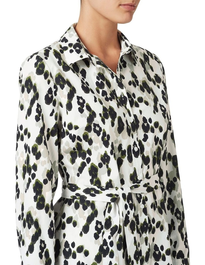 Sacha Printed Shirt Dress image 4