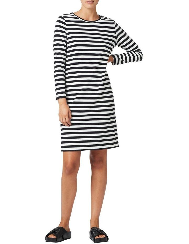 Tonya Long Sleeve Jersey Dress image 1