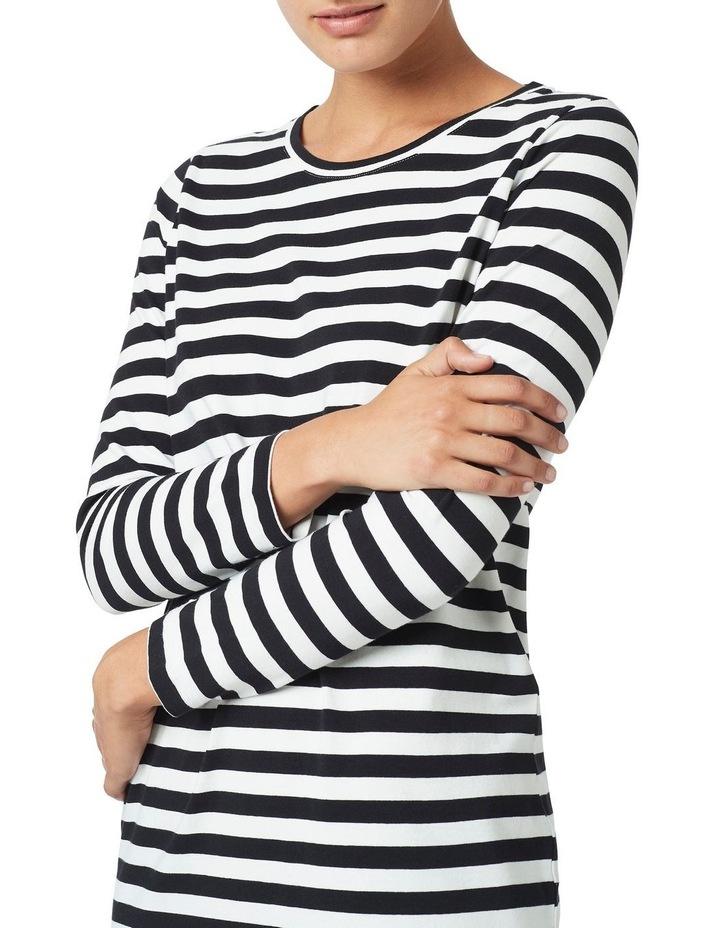 Tonya Long Sleeve Jersey Dress image 4
