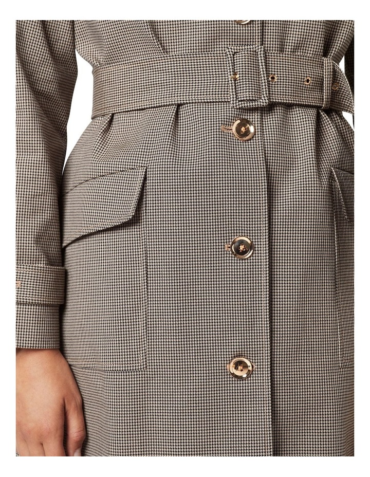 Harley Houndstooth Trench image 4