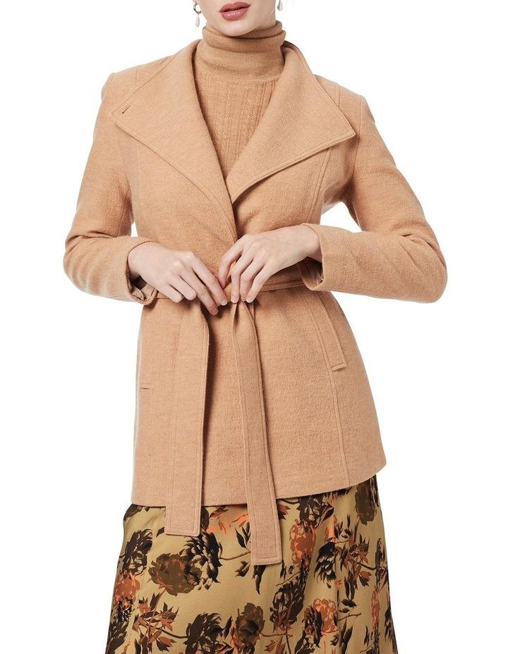 Luisa Felted Wool Coat image 1