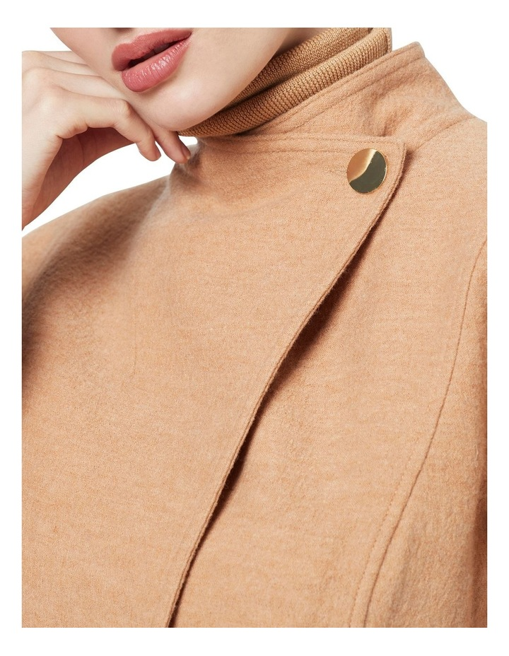 Luisa Felted Wool Coat image 3
