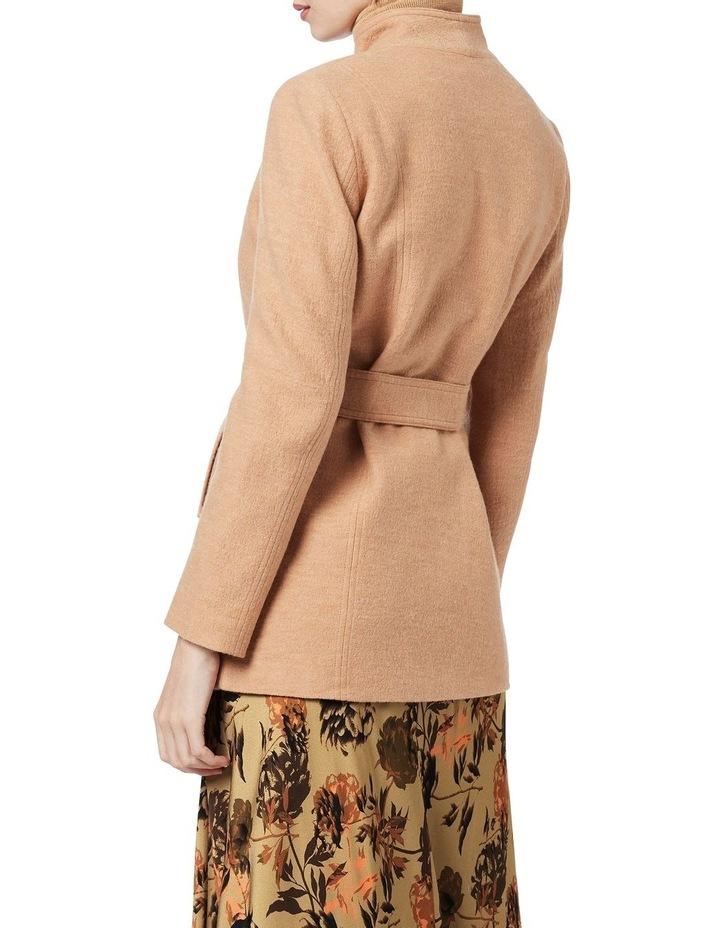 Luisa Felted Wool Coat image 4