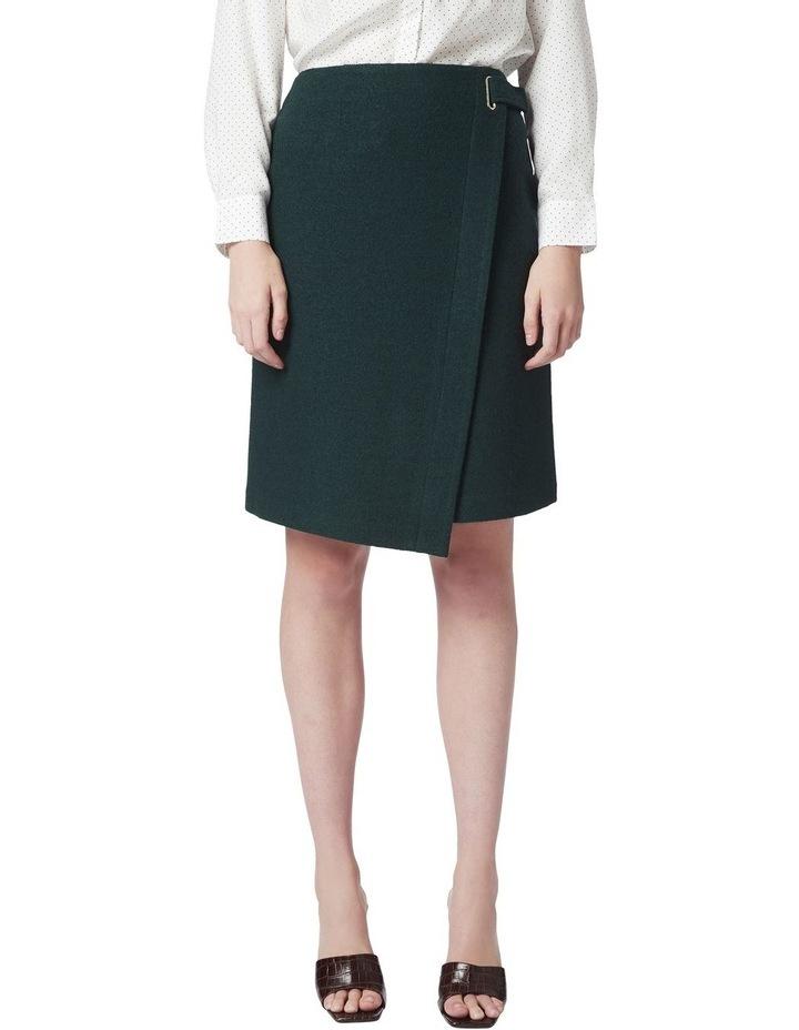 Marisa Wool Wrap Skirt image 1