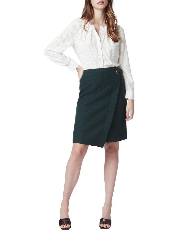 Marisa Wool Wrap Skirt image 2