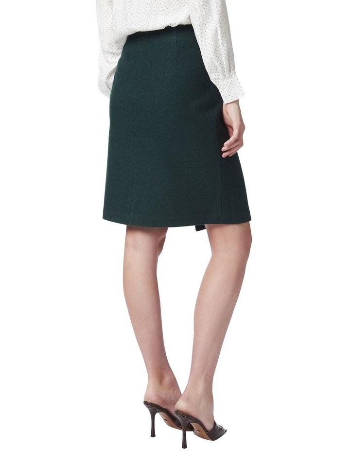 Marisa Wool Wrap Skirt image 3