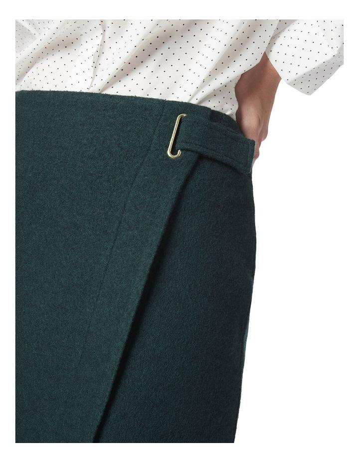 Marisa Wool Wrap Skirt image 4