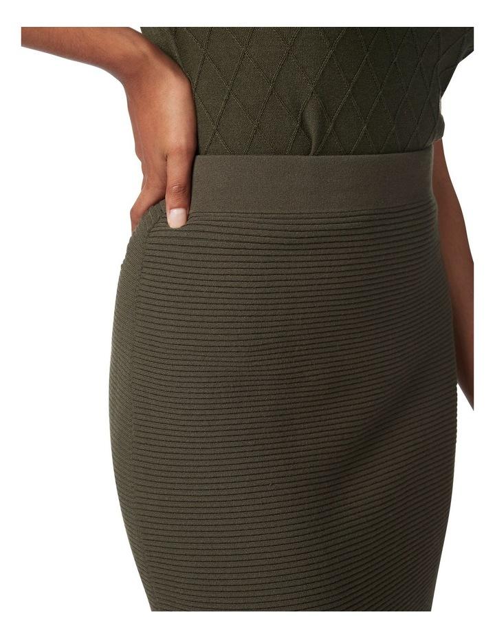 Ottoman Knit Pencil Skirt image 4