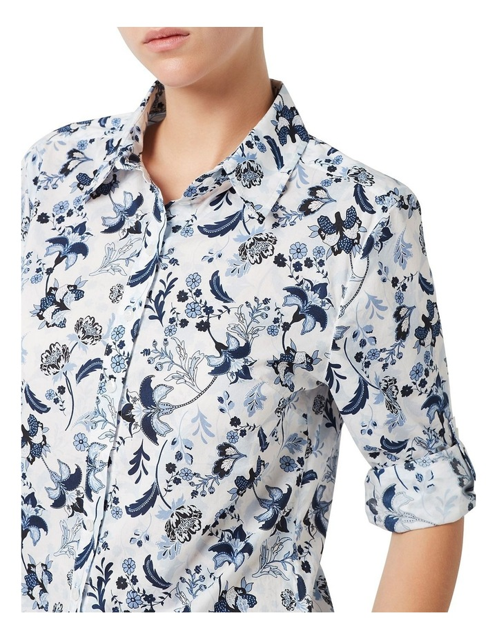 Paige Paisley Cotton Voile Shirt image 4