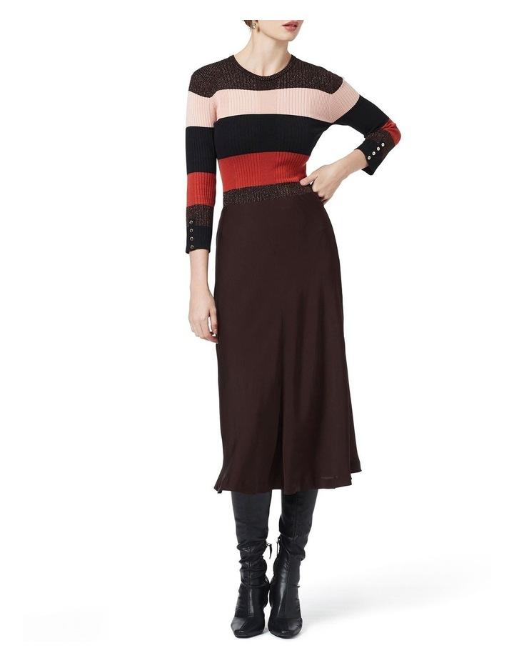 Stripe Long Sleeve Rib Jumper image 1