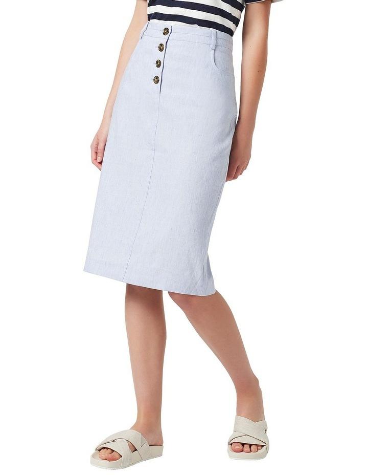 Portia Linen Skirt image 1