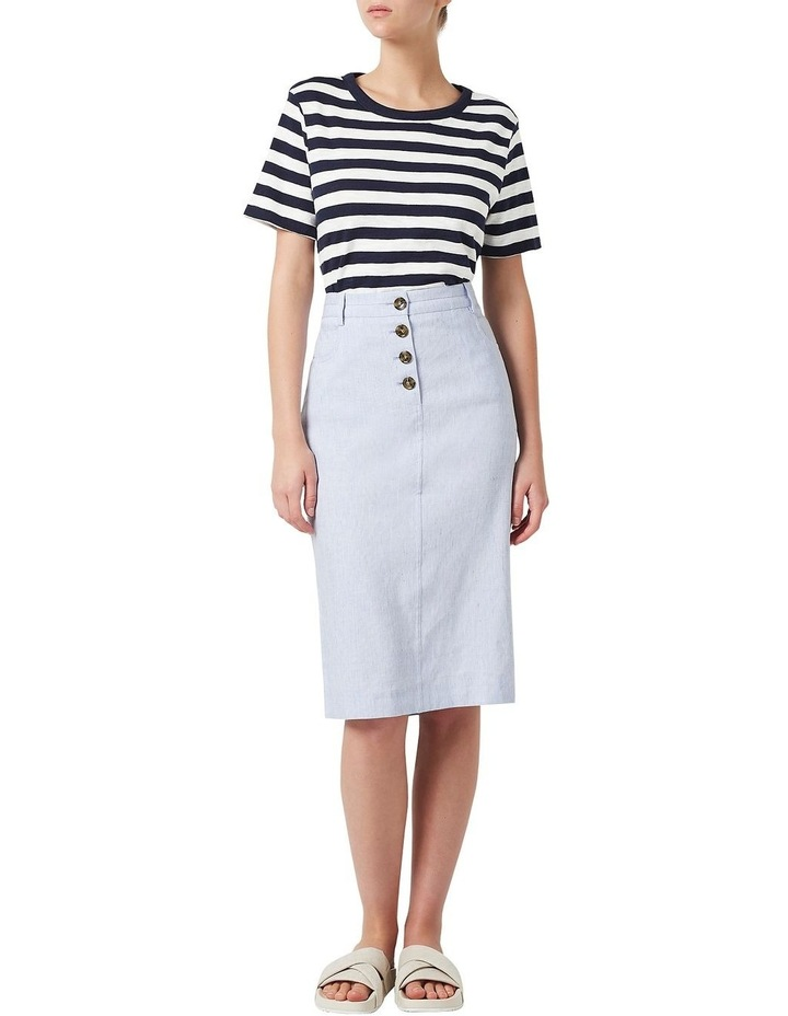 Portia Linen Skirt image 2
