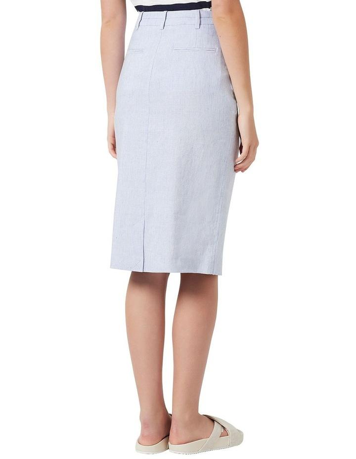Portia Linen Skirt image 3
