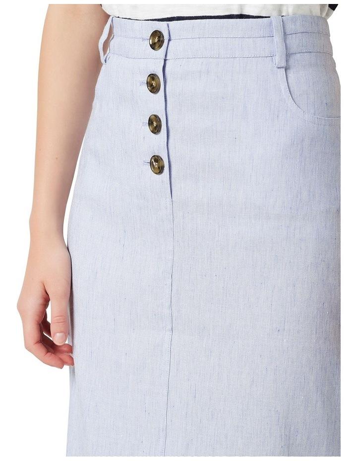 Portia Linen Skirt image 4