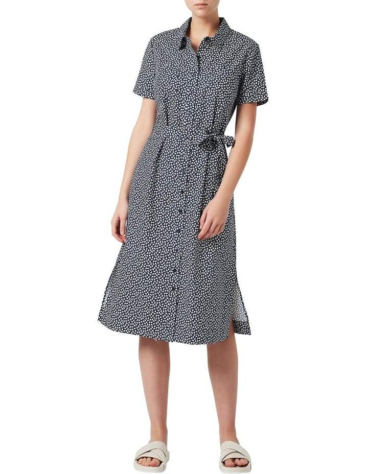 Valerie Printed Shirt Dress image 1
