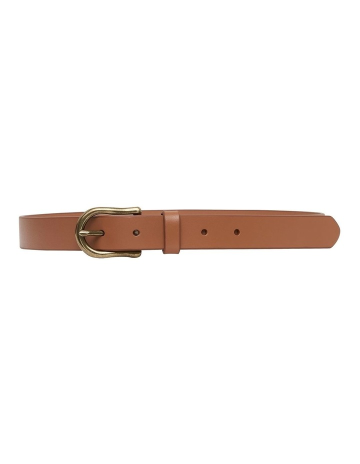 Kadie Jeans Tan Leather Belt image 1