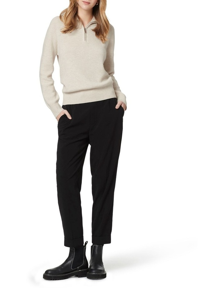 Verity Ribbed Zip Knit image 1