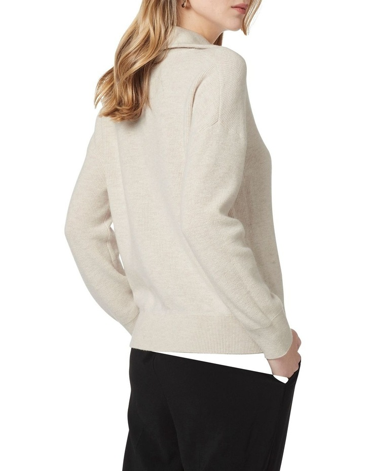 Verity Ribbed Zip Knit image 2