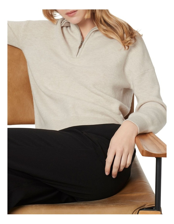 Verity Ribbed Zip Knit image 3