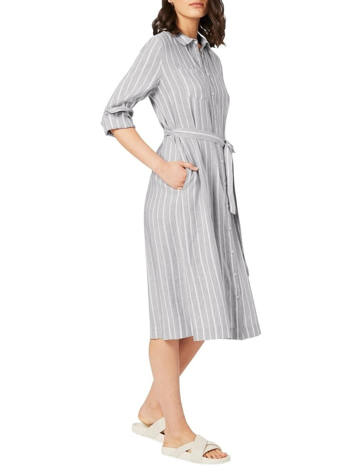 Alma Striped Shirtdress image 1