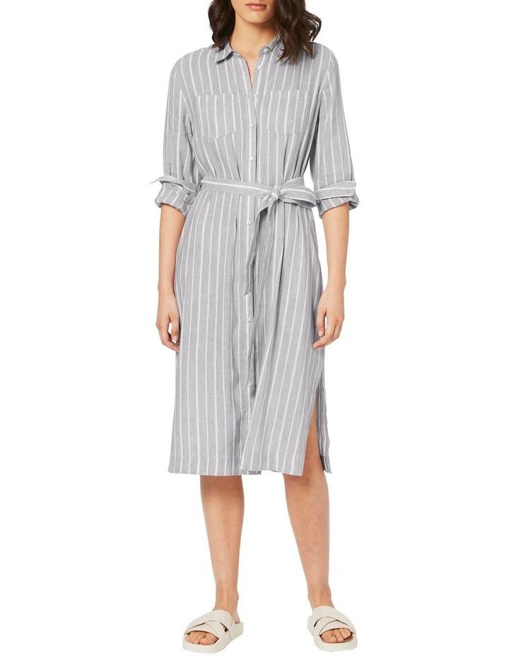 Alma Striped Shirtdress image 2