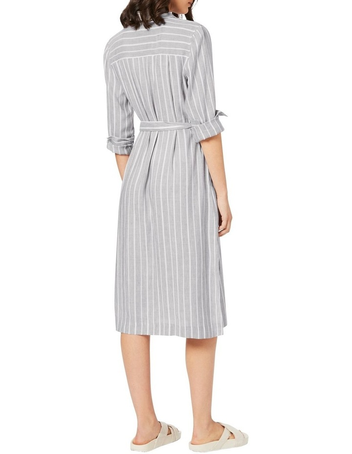 Alma Striped Shirtdress image 3