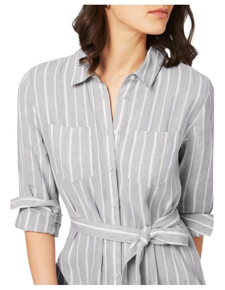 Alma Striped Shirtdress image 4