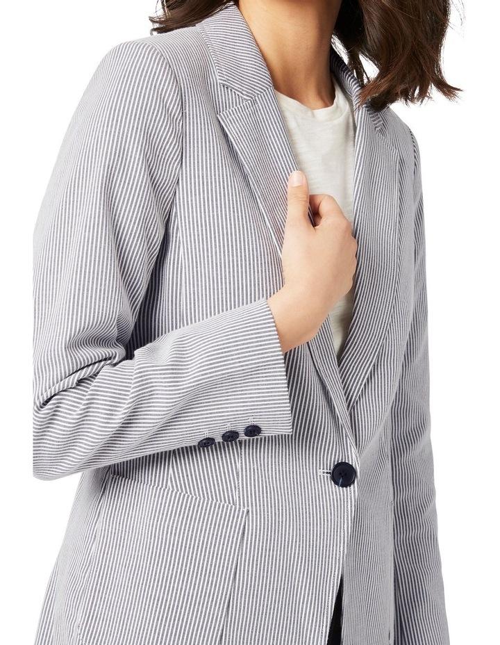 Albina Relaxed Striped Blazer image 4