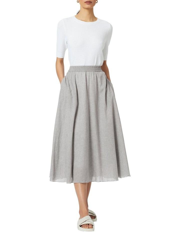 Jamie Y/d Cotton Skirt image 2