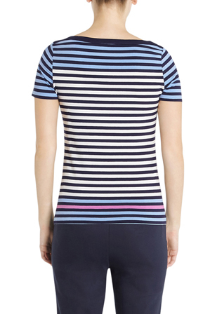 Marcs - 70s Sundae Multicoloured Stripe Tee