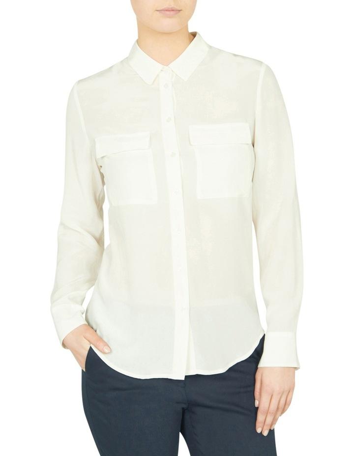 Sofia Long Sleeve Silk Shirt image 1