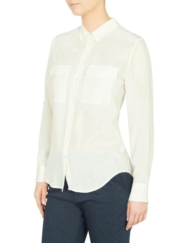 Sofia Long Sleeve Silk Shirt image 2