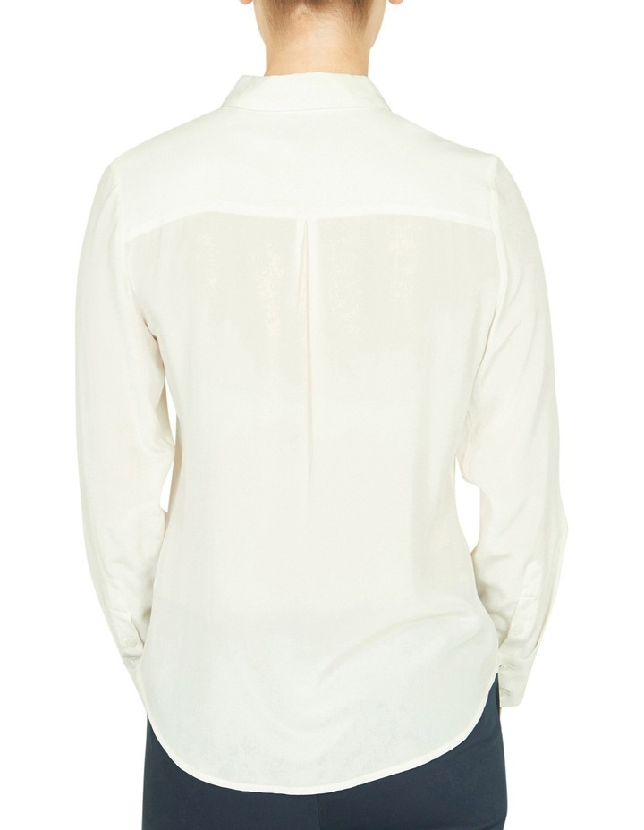 Sofia Long Sleeve Silk Shirt image 3