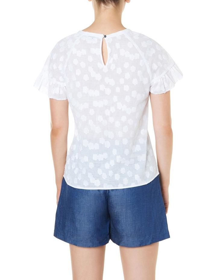 Daisy Ruffle Sleeve Top image 3