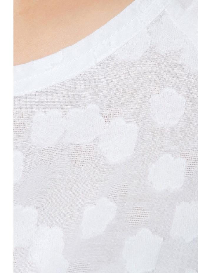 Daisy Ruffle Sleeve Top image 4