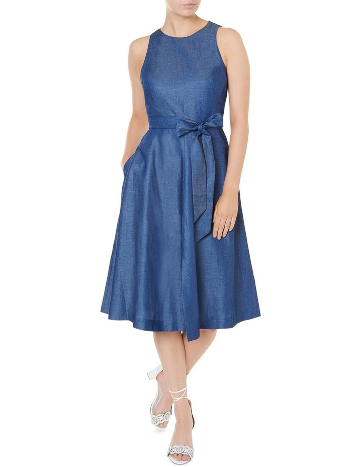 Tencel Sleeveless Midi Dress image 1