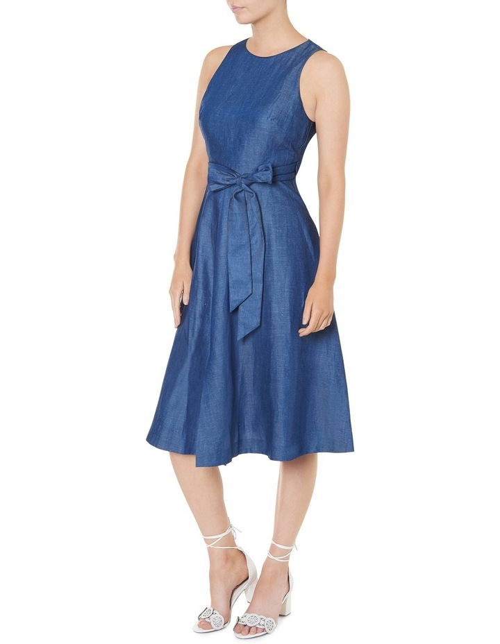 Tencel Sleeveless Midi Dress image 2