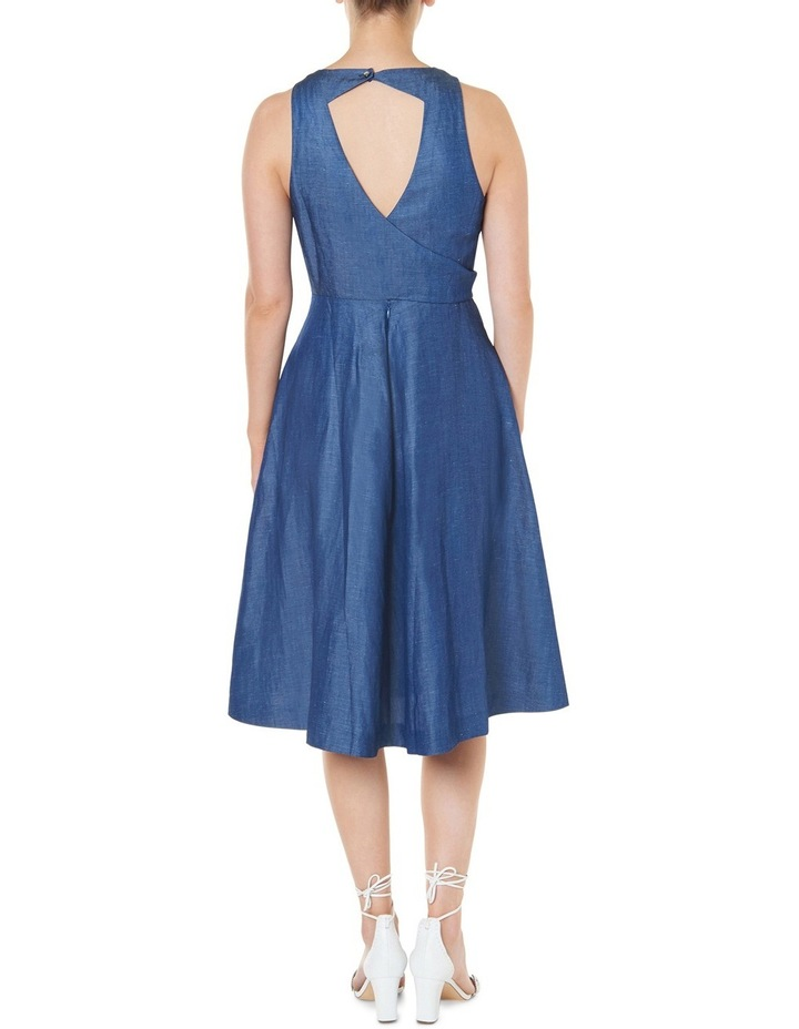 Tencel Sleeveless Midi Dress image 3