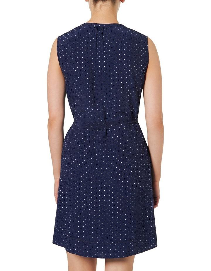 Alice Sleeveless Spot Print Dress image 3