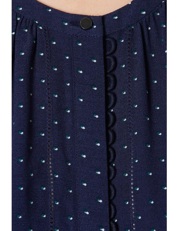 Alice Sleeveless Spot Print Dress image 4