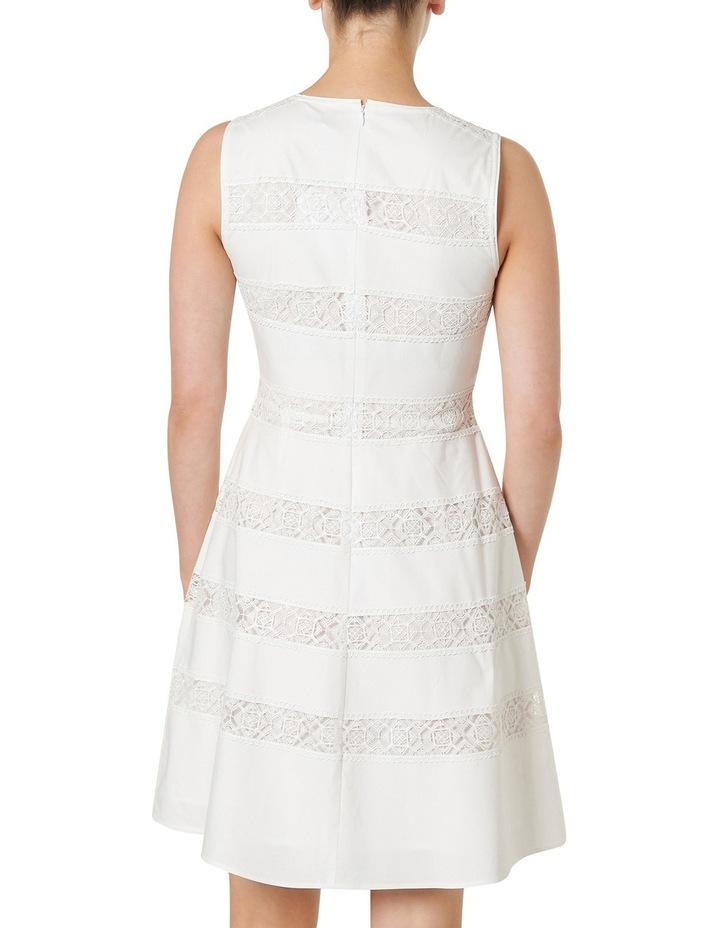 Marilyn Lace Stripe Sleeveless Dress image 3