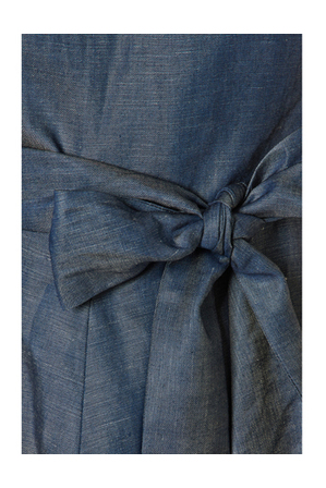 Marcs - Linen And Tencel Tie Waist Short