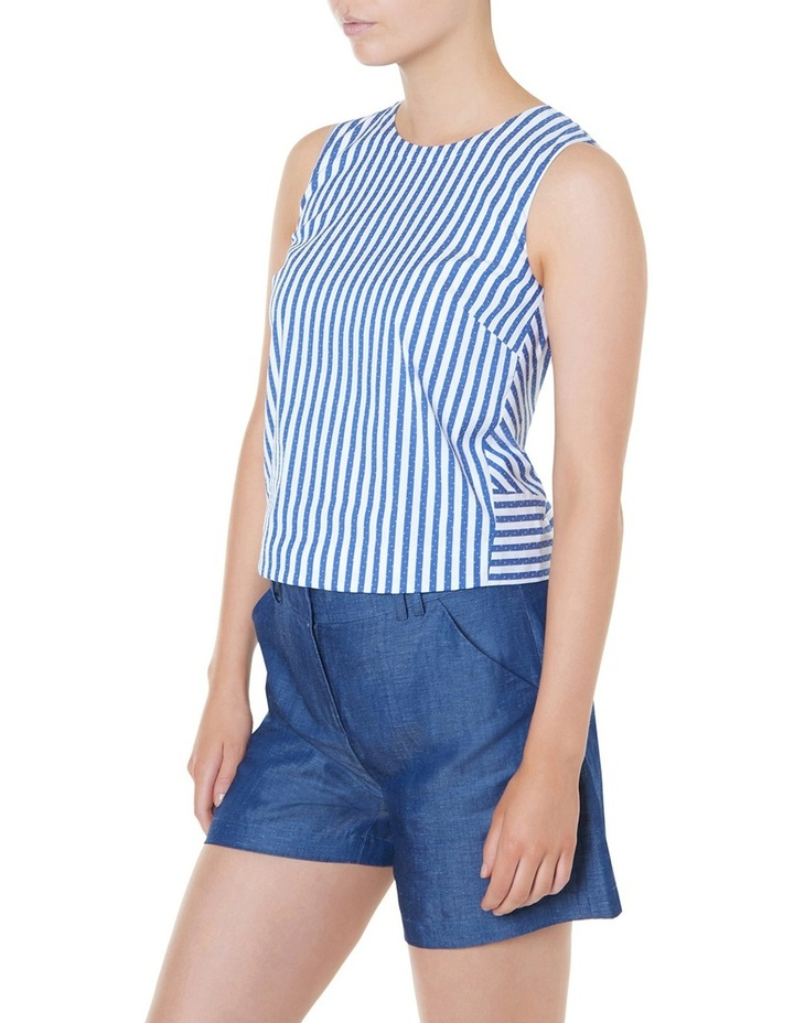 Cut About Stripe Top image 2