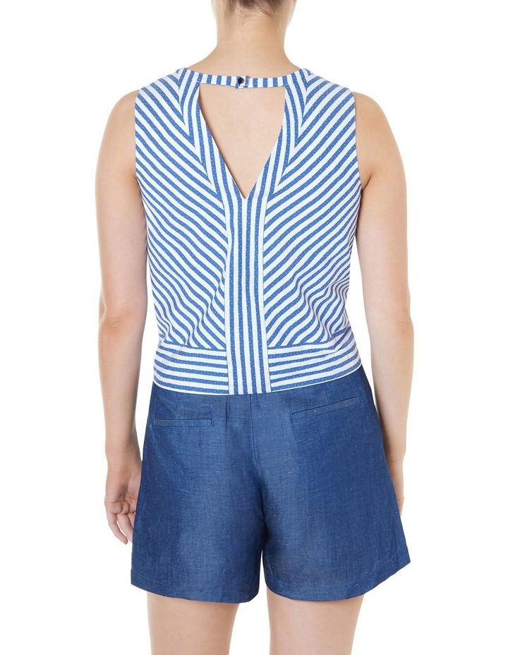 Cut About Stripe Top image 3