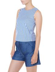 Marcs - Cut About Stripe Top