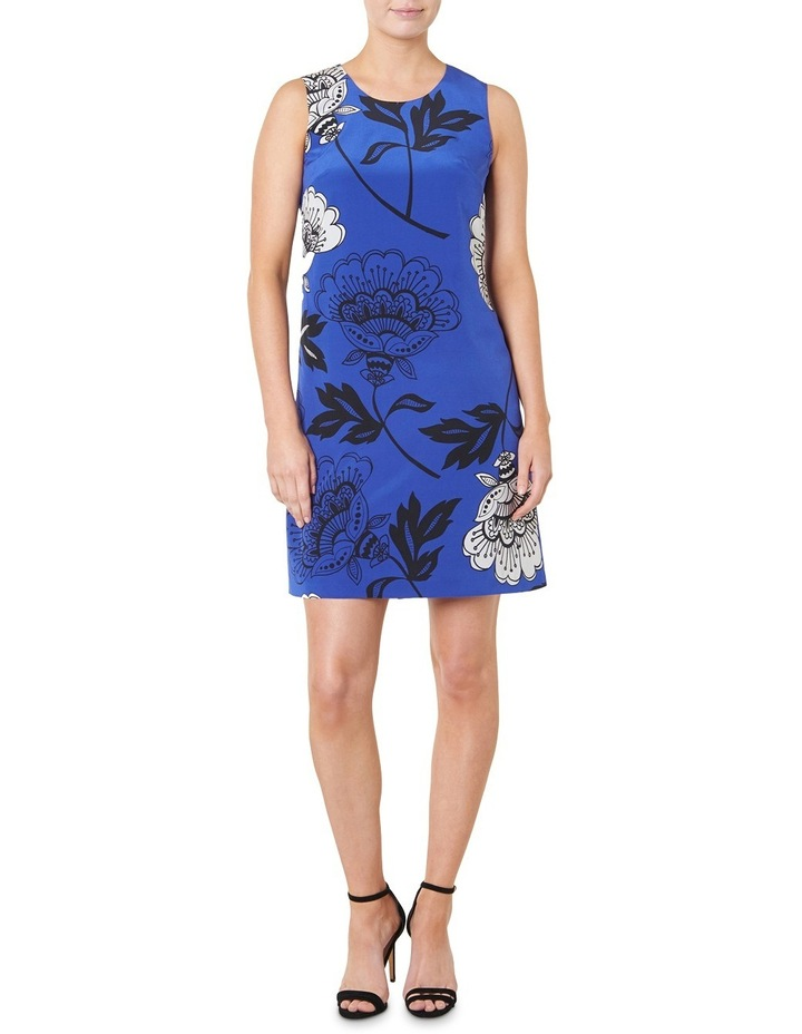 Lucille Floral Silk Dress image 1