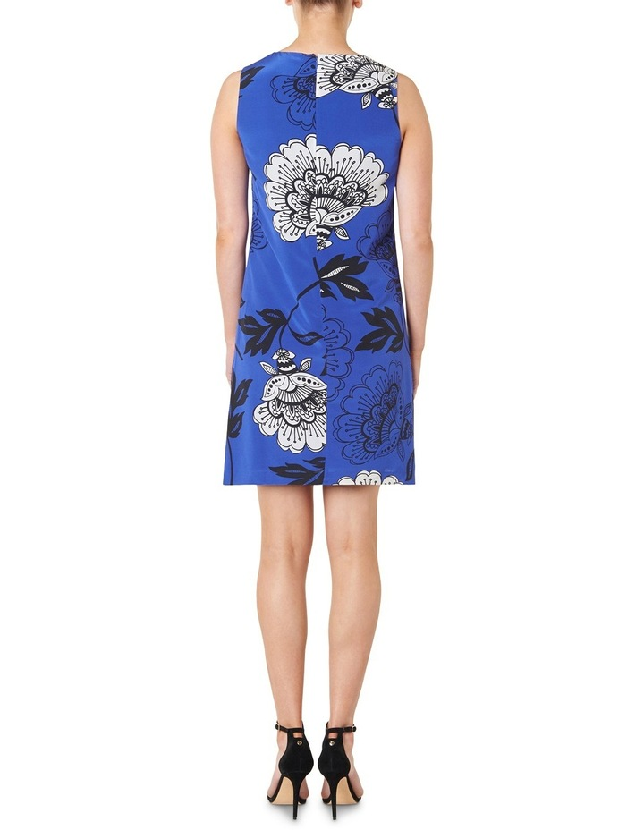 Lucille Floral Silk Dress image 3